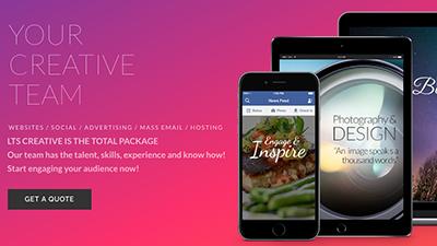 LTS Creative Digital Marketing Web Pages